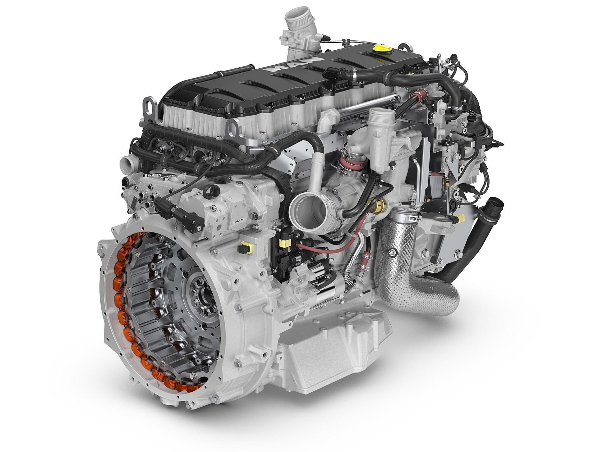 Двигатель D15 для автобусов MAN
