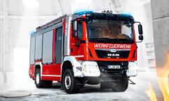 MAN пожарные автомобиль