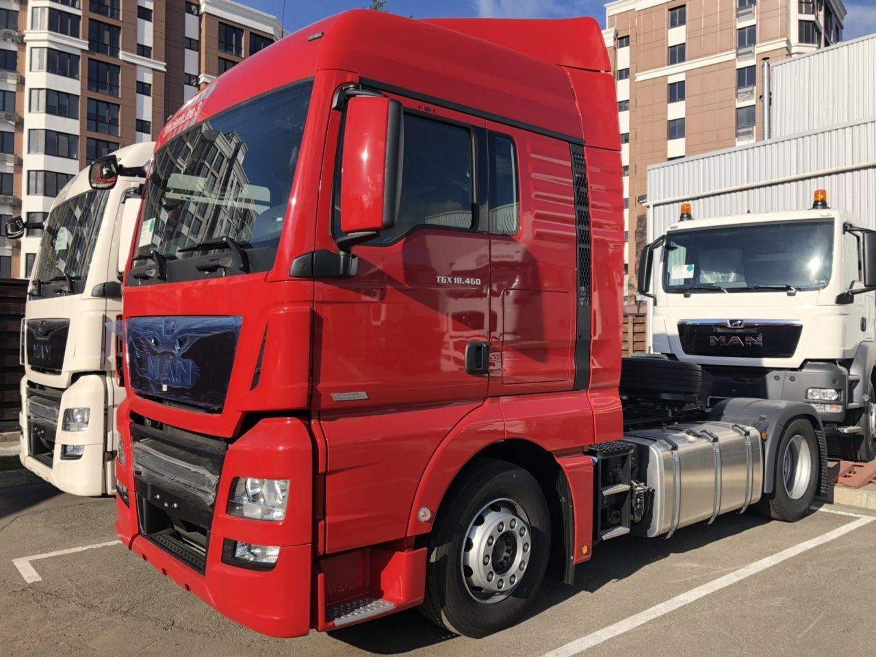 TGX 18.460 BLS 4х2 EfficientLine тягач Евро 6 кабина XLX