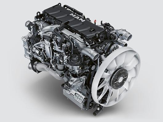 Двигатель MAN D15 (D1556)