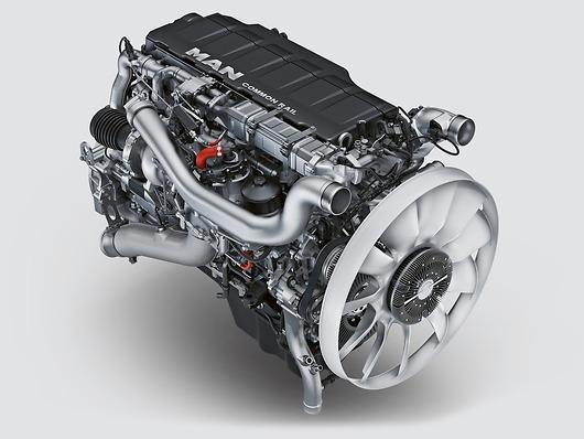 Двигатель MAN D26 (D2676)