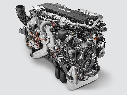 Двигатель MAN D38 (D3876)