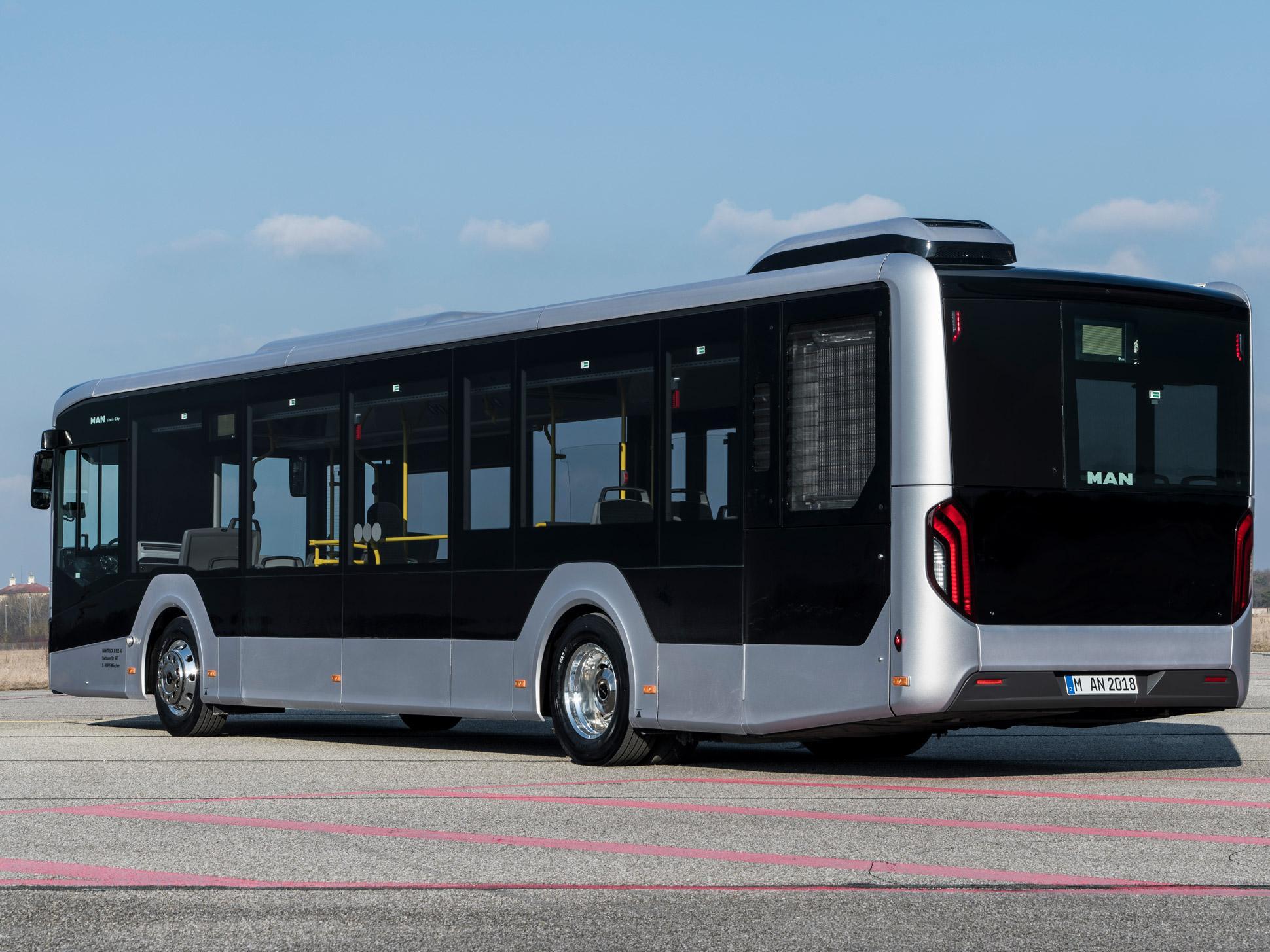 Внешний дизайн автобуса MAN Lion's City 2018