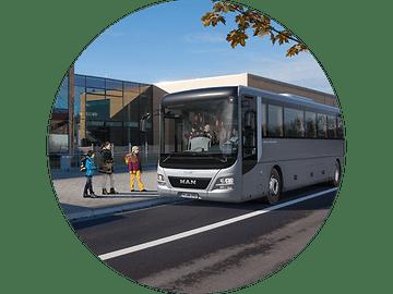 MAN Lion's Intercity - Безопасность по пути в школу