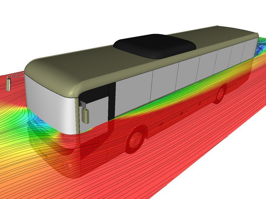 Усовершенствованная аэродинамическая конструкция MAN Lion's Intercity