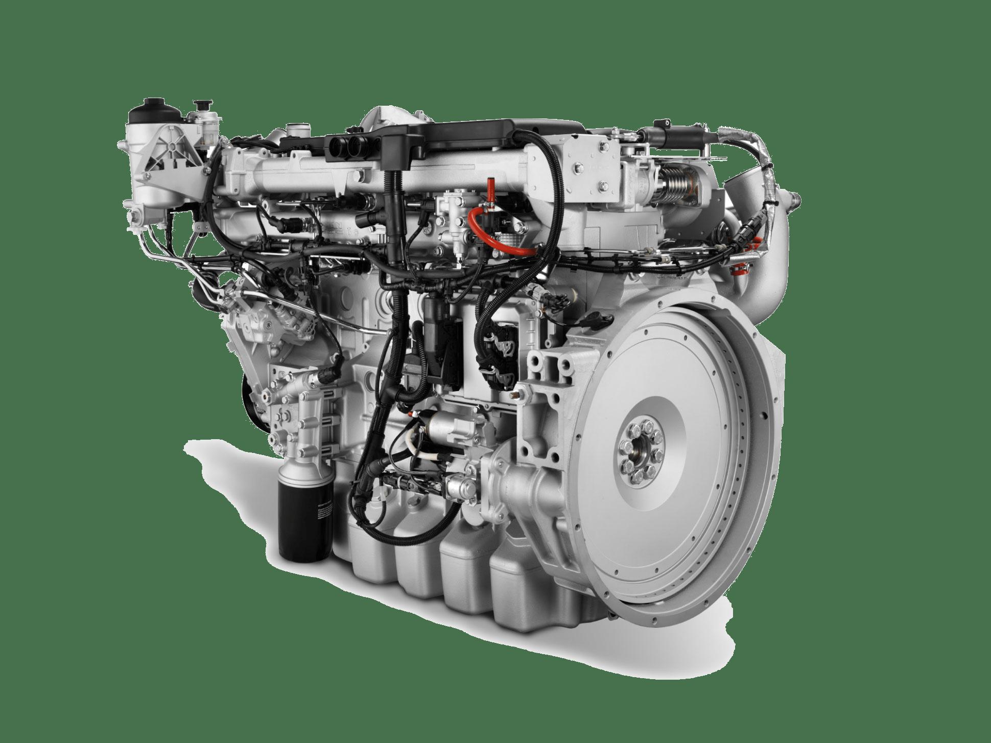 Двигатель MAN D08