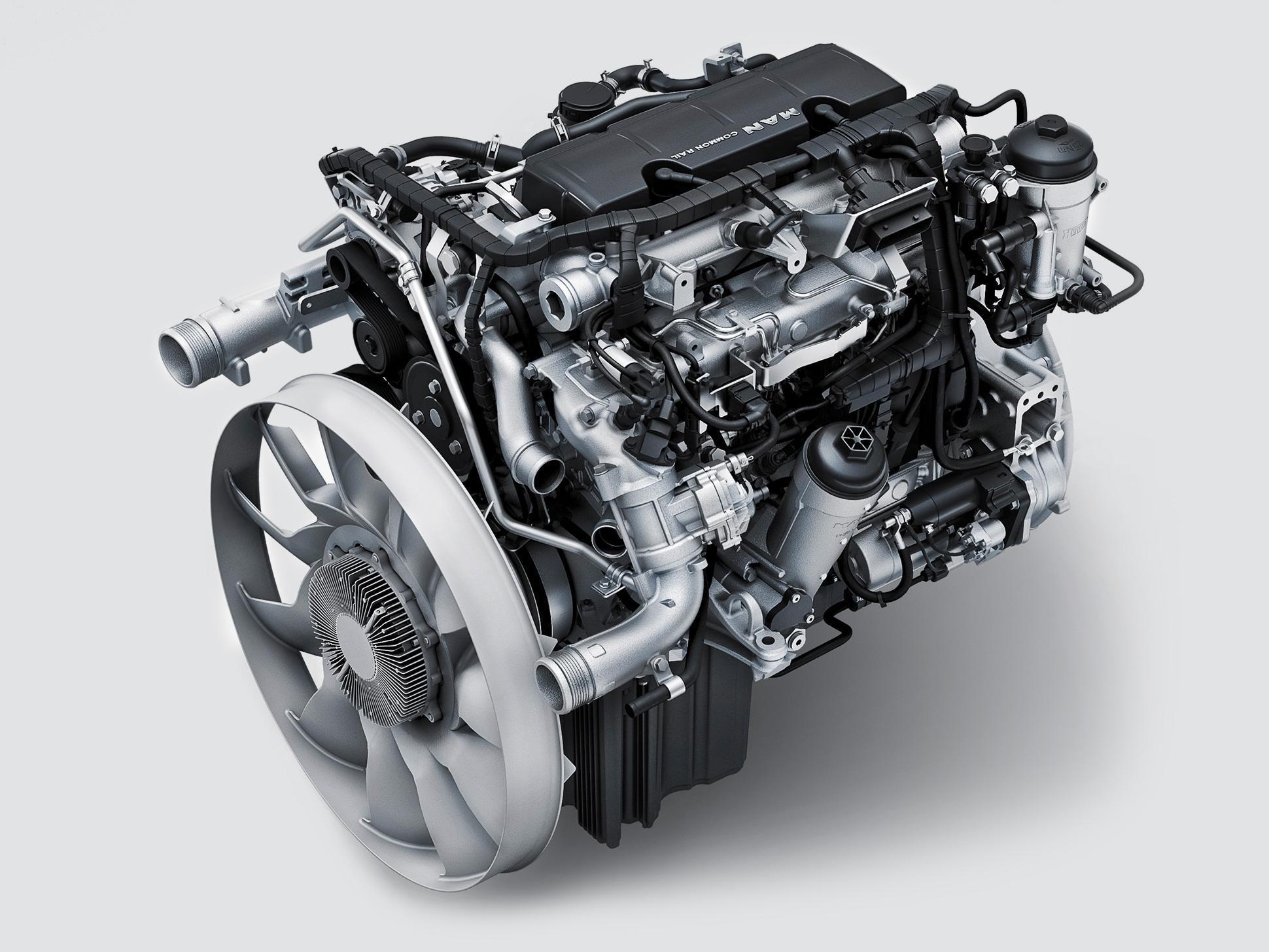 Двигатель MAN D0834