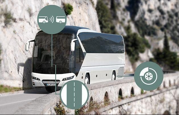 Системы помощи водителю для автобусов NEOPLAN